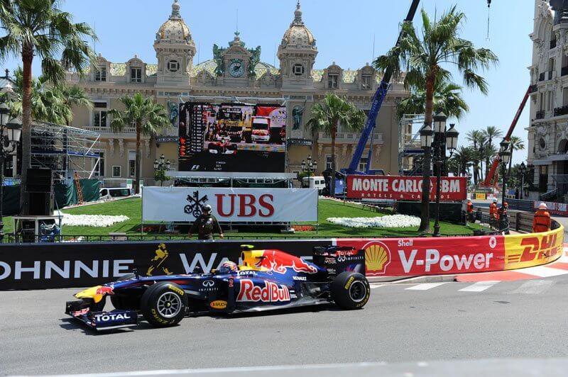 Corrida de Fórmula 1 em Mônaco