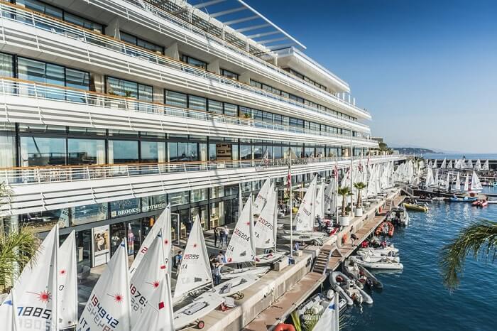Vista da Marina de Mônaco