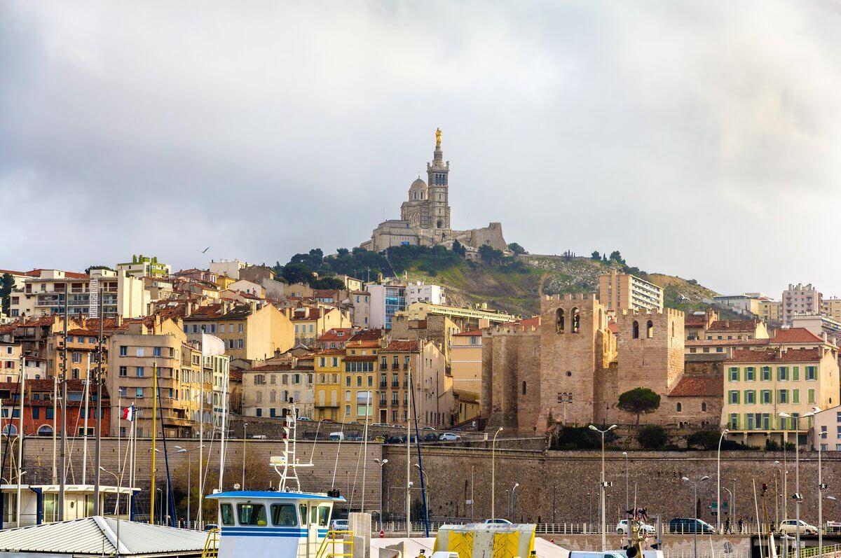 Inverno em Marselha