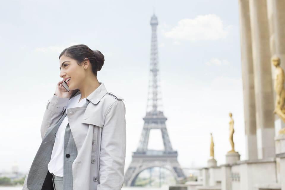 Celular em Paris