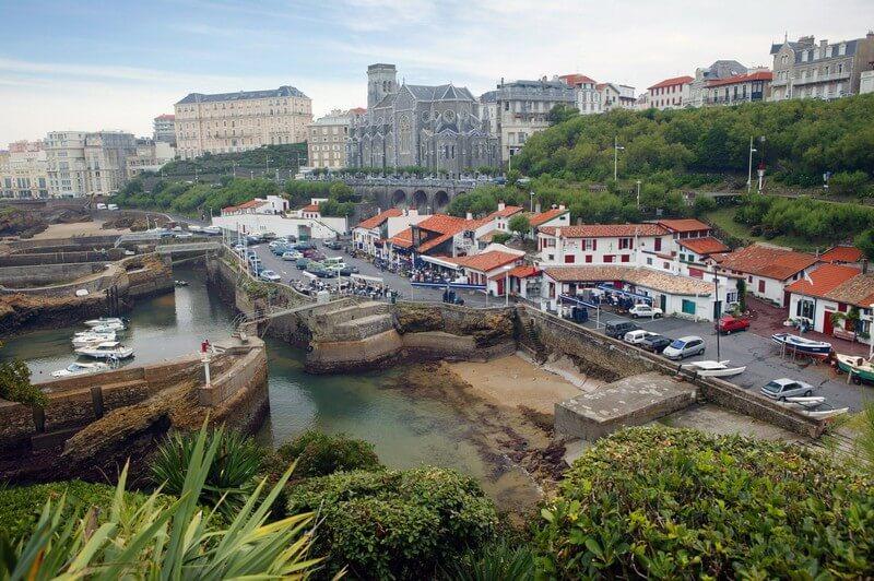 Port des Pêcheurs em Biarritz