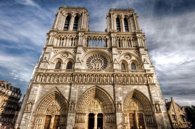 Vista da Catedral Notre Dame