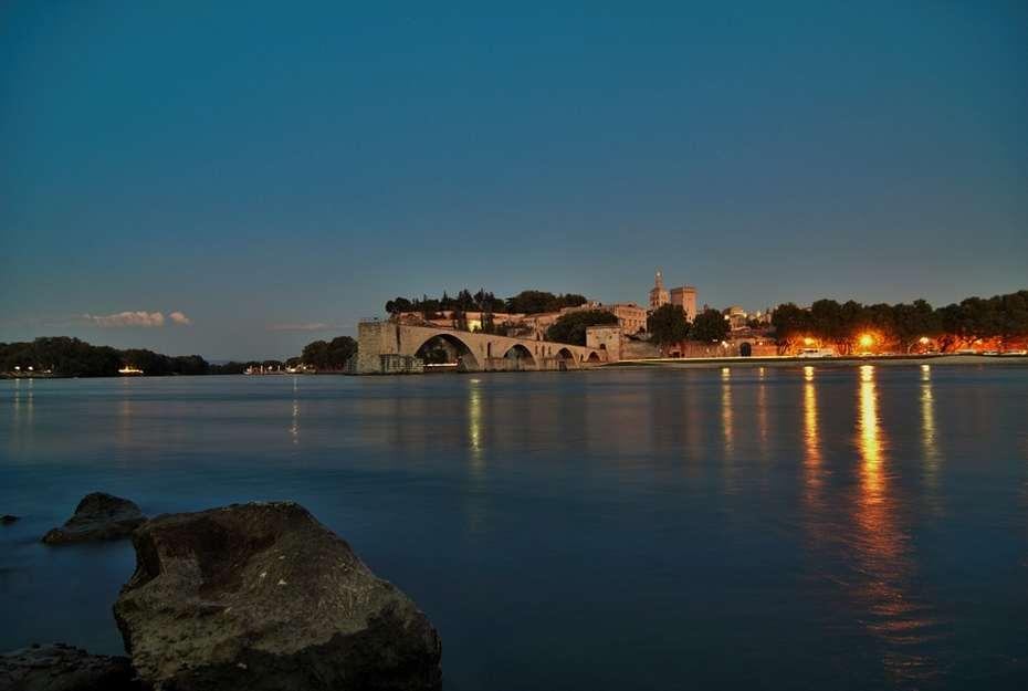 Outono em Avignon