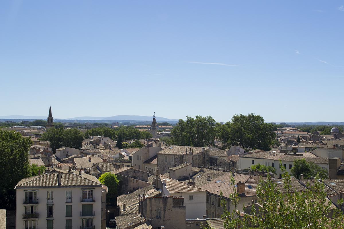 Paisagem em Avignon