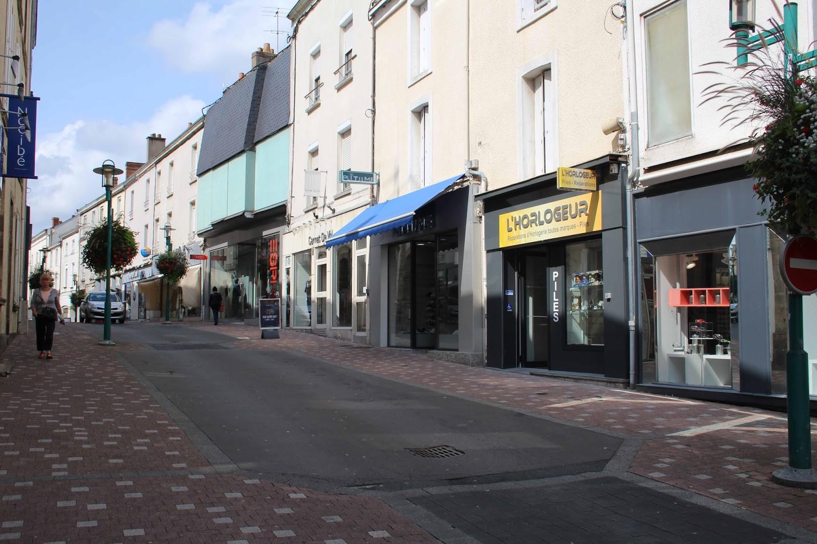 Rue Clemenceau em Aix