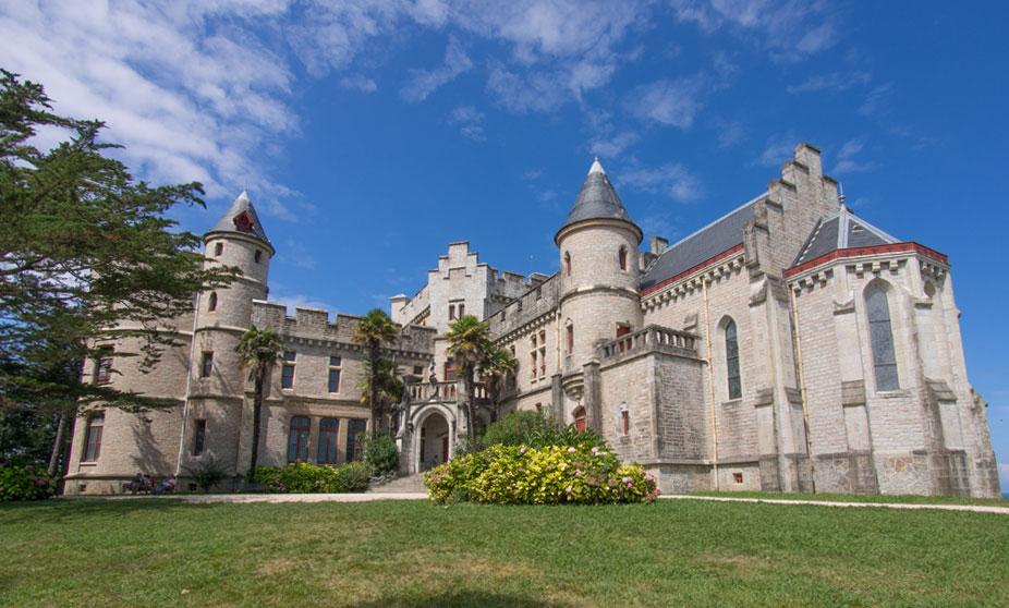Château d'Abbadia em Biarritz