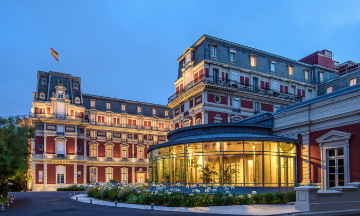 Hotel Du Palais em Biarritz