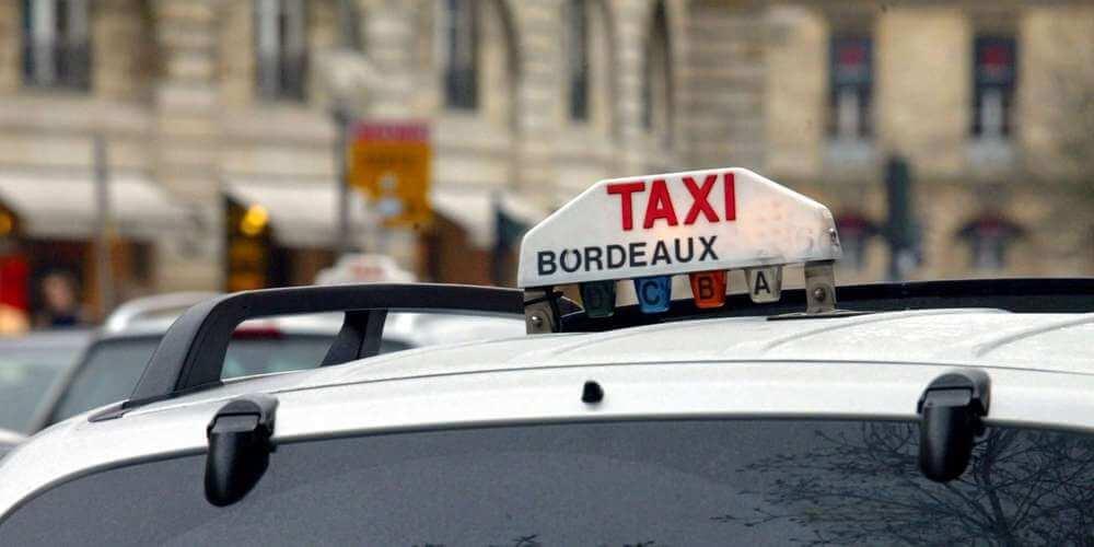 Táxi em Bordéus