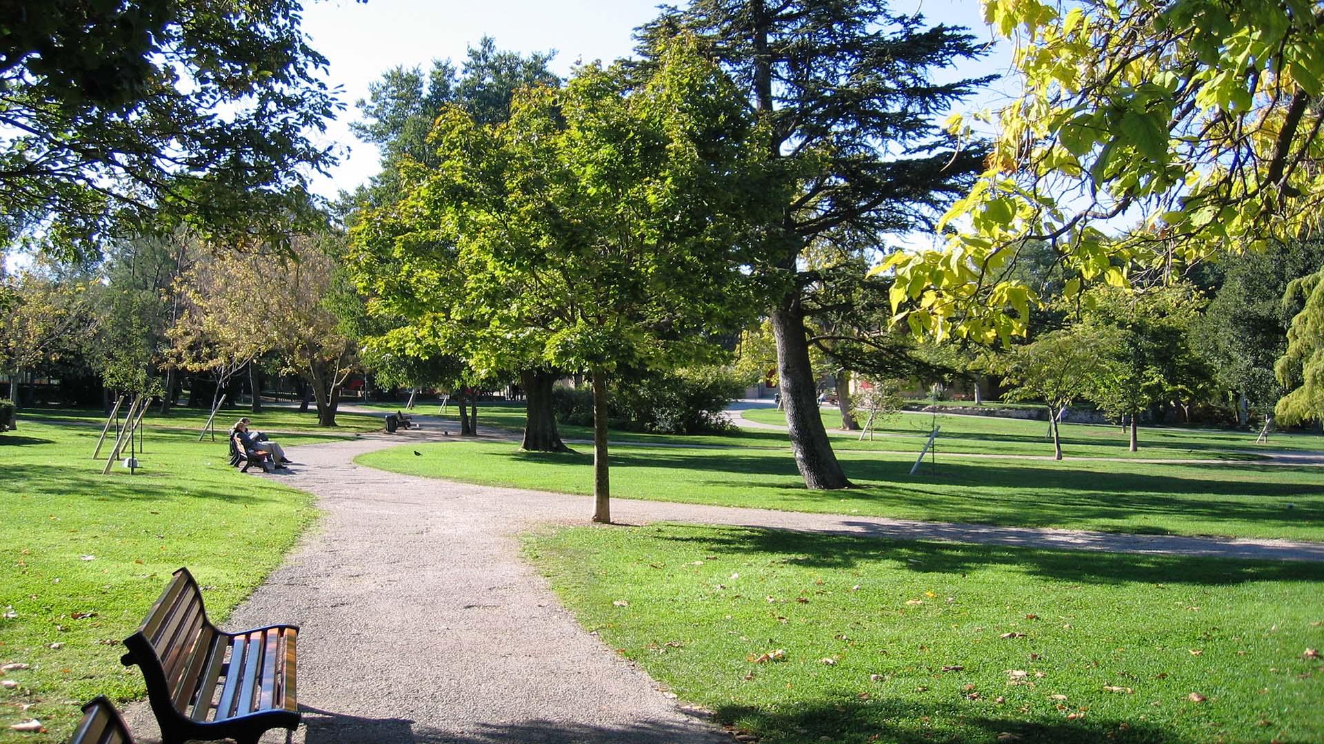 Parque Jourdan em Aix