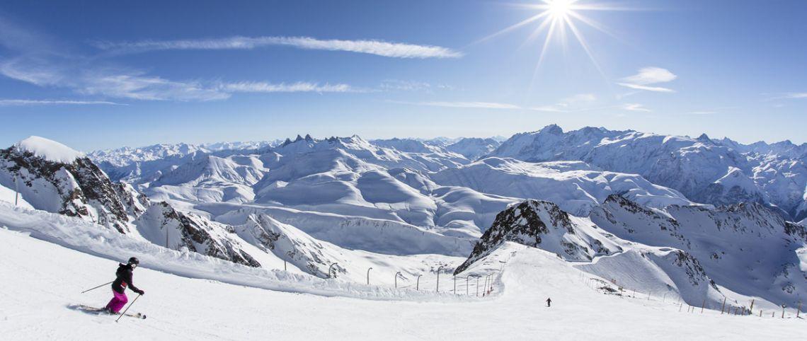 Ski em Bordéus