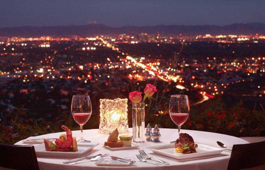 Vista romântica de Bordéus