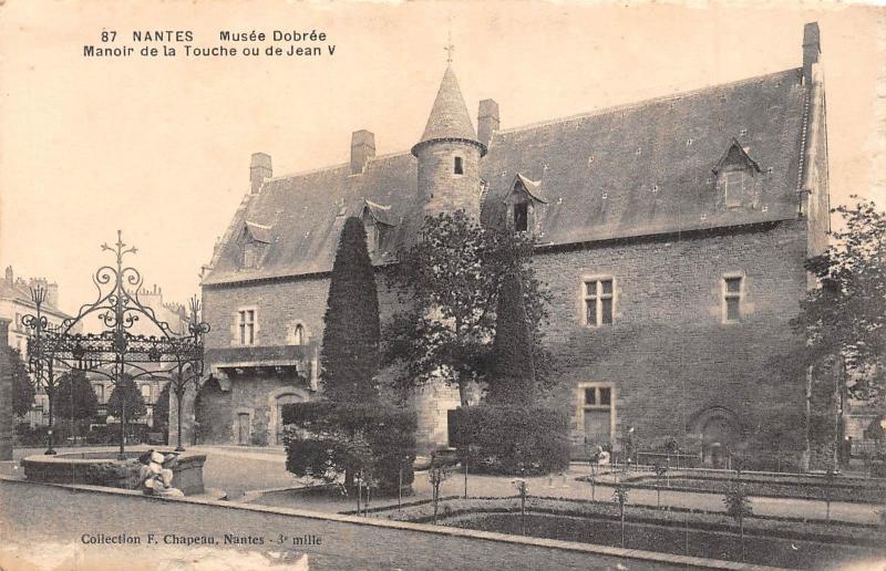 Antigo Museu Dobrée em Nantes