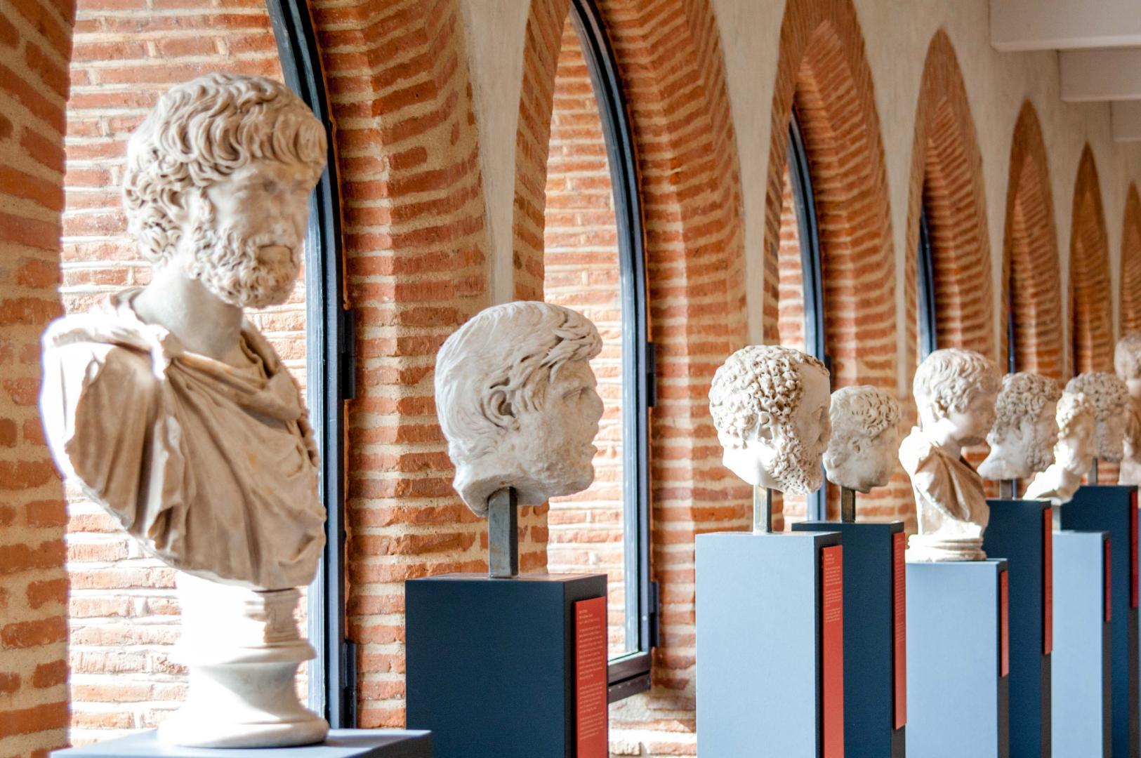 Esculturas do Museu Saint Raymond