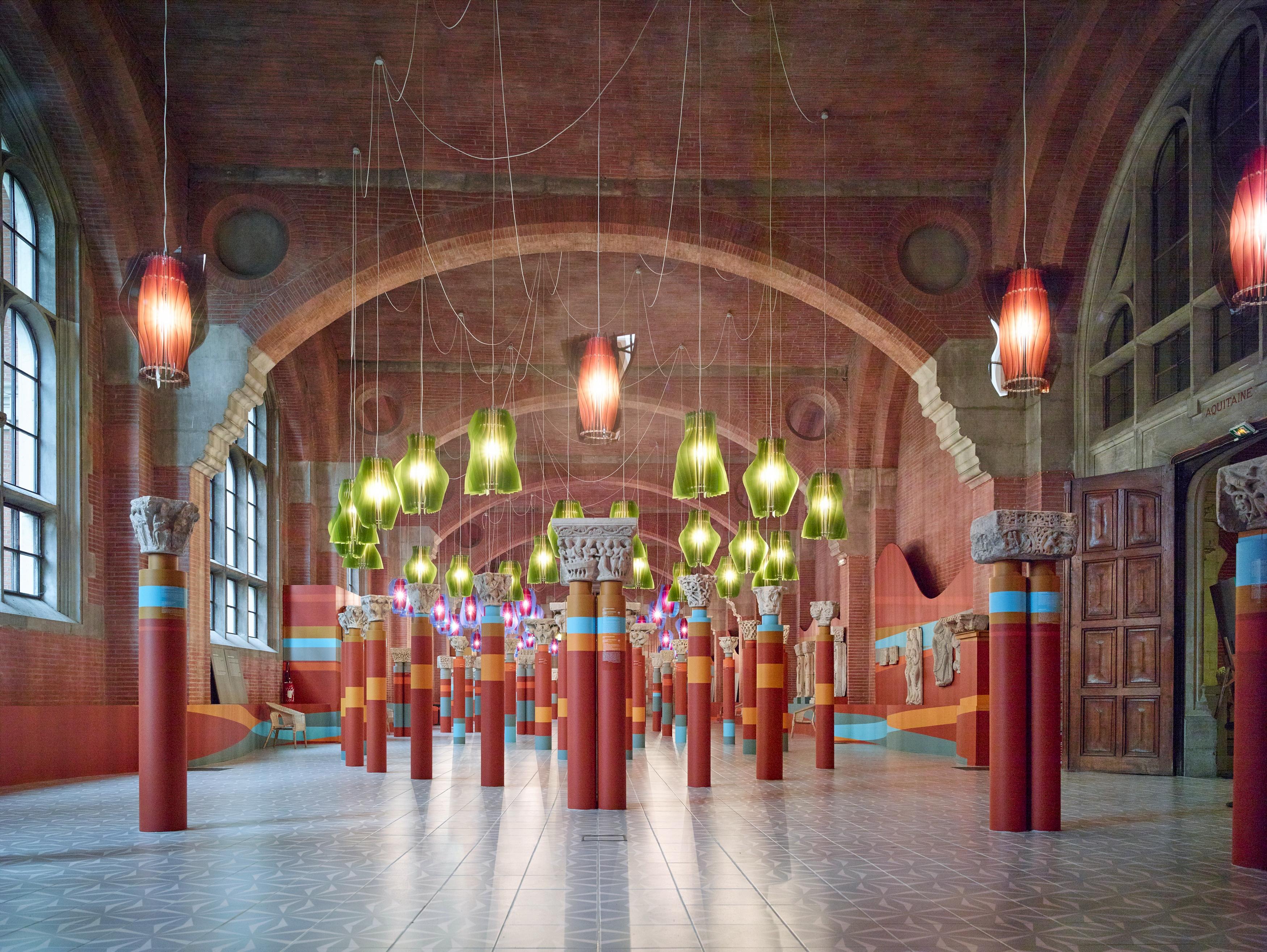 Exposição temporária do Museu des Augustins de Toulouse