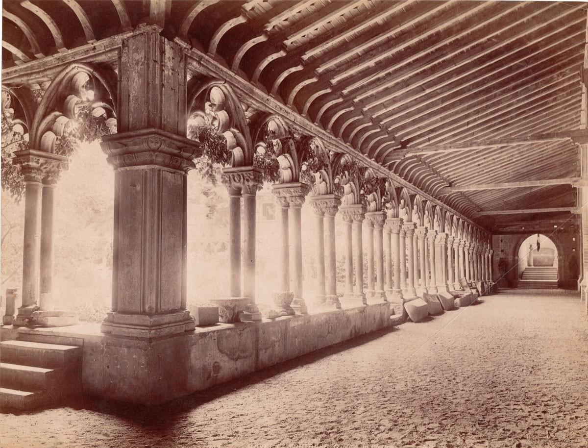 Foto antiga do Museu des Augustins de Toulouse