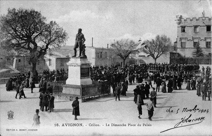Foto antiga do Museu do Petit Palais