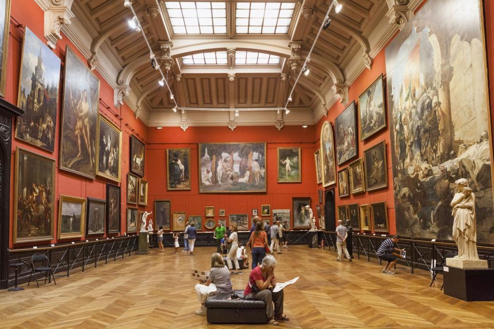 Interior do Museu des Augustins de Toulouse