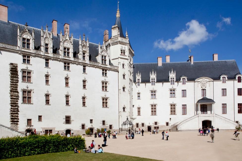 Vista do Castelo dos Duques da Bretanha