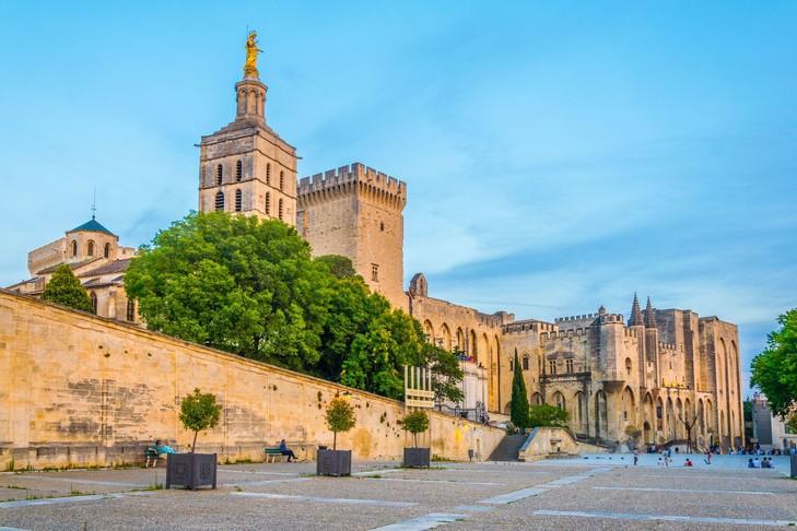 Palácio dos Papas em Avignon