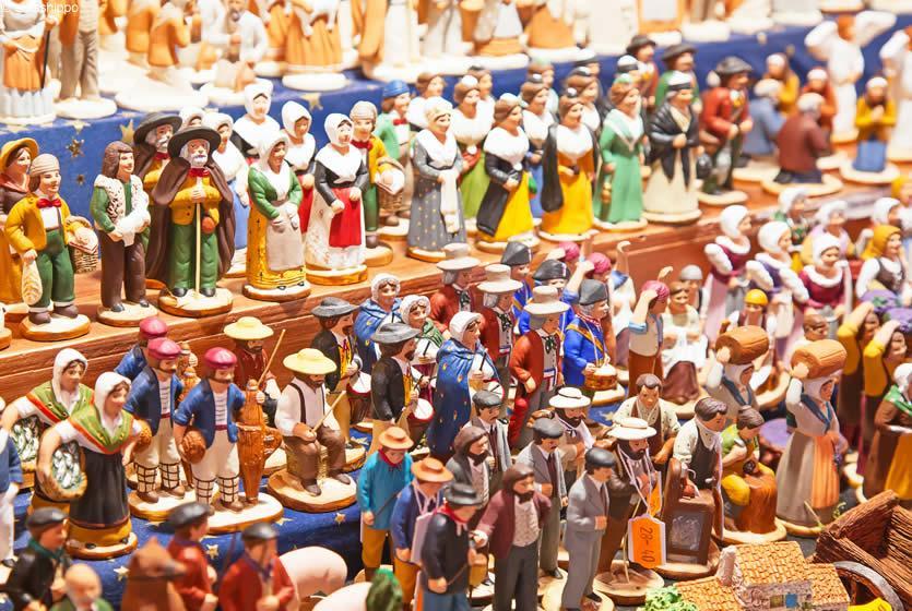 Mercado de Natal em Avignon