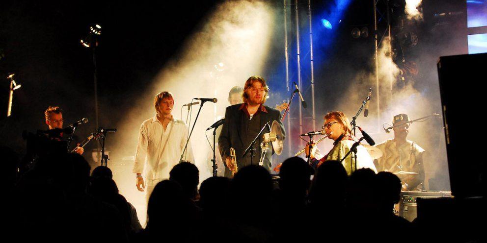 Show no inverno em Aix