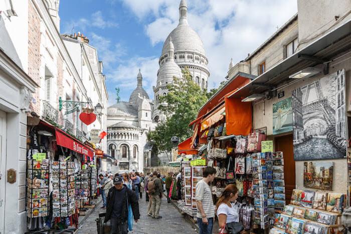Explorar Montmartre em Paris