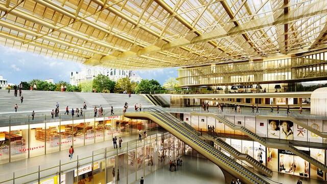 Shoppings em Paris - Forum des Halles