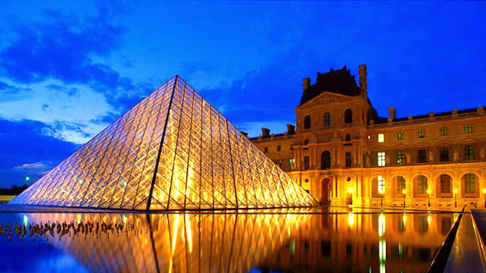 Museu do Louvre em Paris