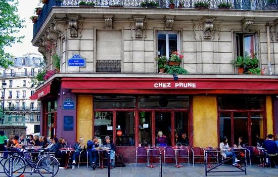 Bar Chez Prune em Paris
