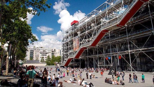 Museu Georges Pompidou em Paris