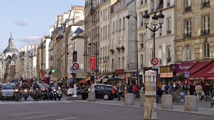Onde ficar em Paris: região de Le Marais em Paris
