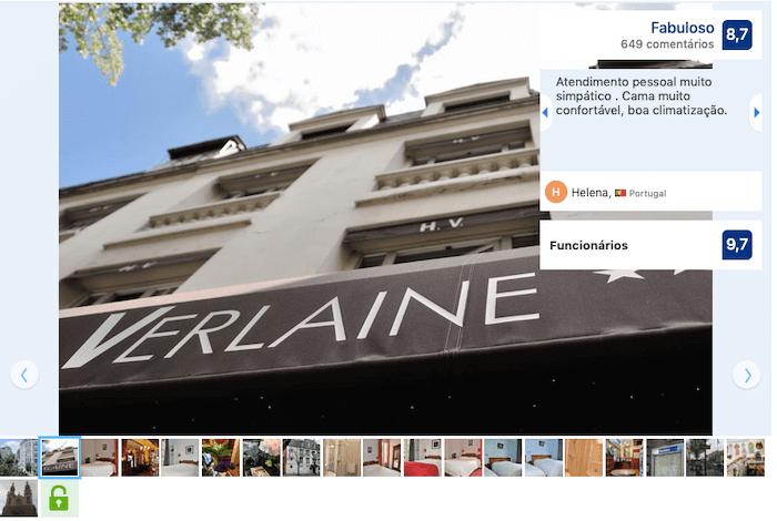 Hotel Verlaine em Paris