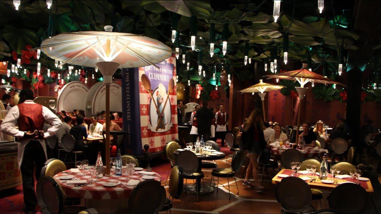 Bistrot Chez Remi na Disneyland Paris