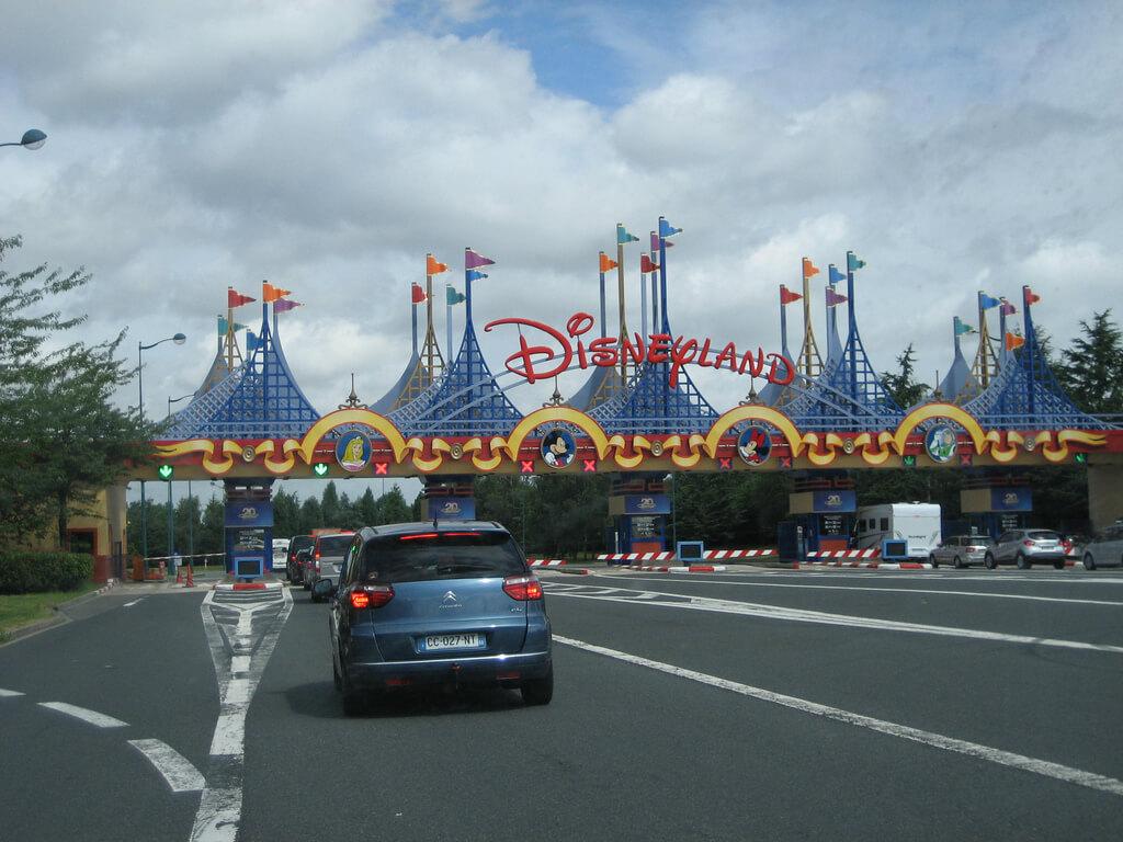 Carro na Disneyland Paris