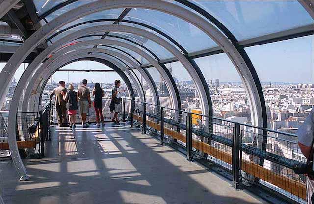 Centre Georges Pompidou em Paris