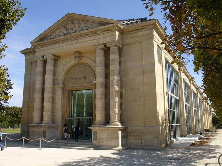 Exterior do Museu L'Orangerie