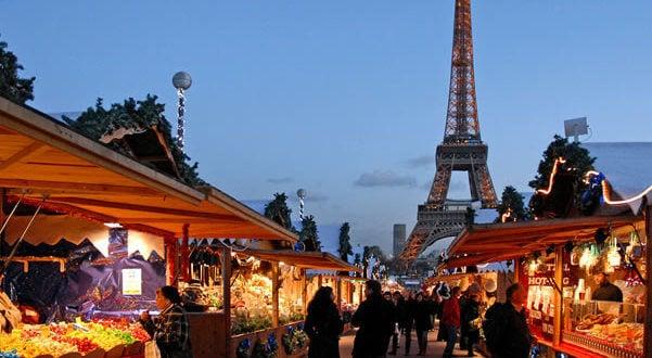 Mercados natalinos em Paris