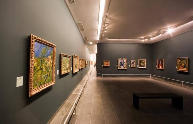 Obras expostas no Museu L'Orangerie
