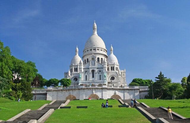 Sacré Coeur em Paris