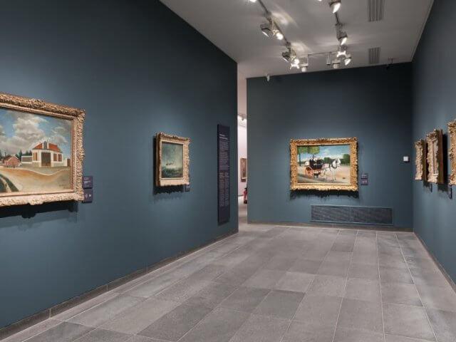 Interior do Museu L'Orangerie