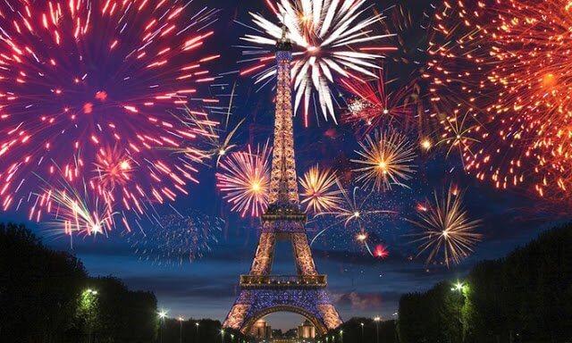 O que fazer no Ano Novo em Paris em 2018