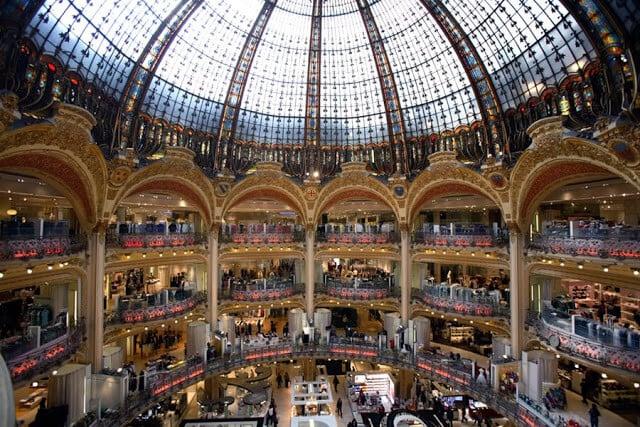 Galeries Lafayette em Paris