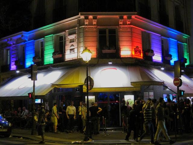 Open Café em Paris