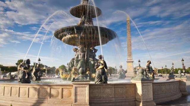 Praça da Concórdia em Paris