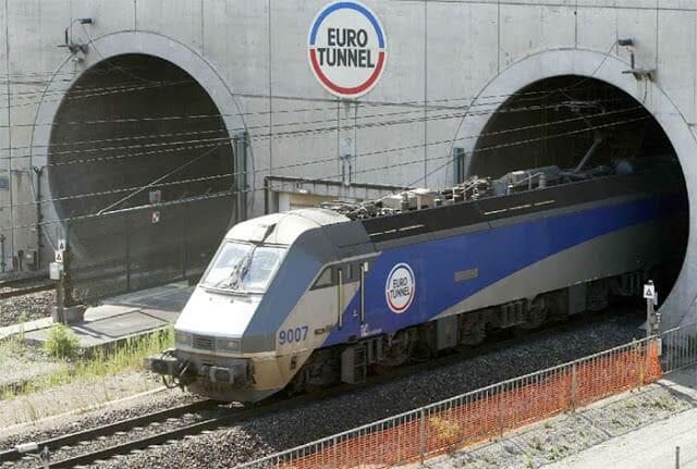 Eurotunnel de Paris a Londres
