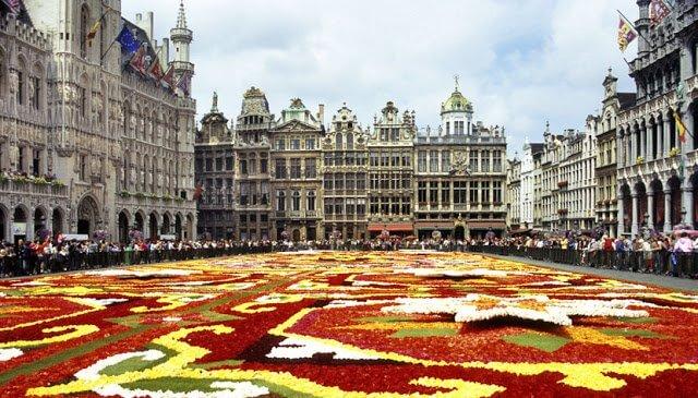 Viagem de carro de Paris a Bruxelas