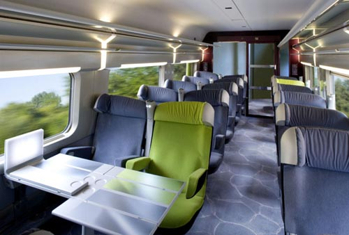 Viagem de trem de Paris a Amsterdã