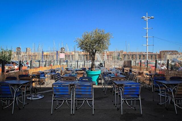 Restaurante no Porto Velho em Marselha