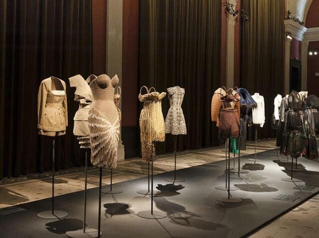 Peças do Museu da Moda em Paris