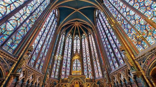 Sainte-Chapelle em Paris